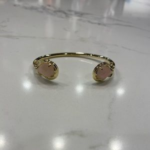 Kendra Scott Andy Pink and Gold Bracelet
